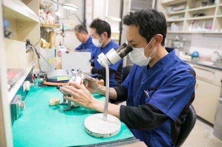 歯科技工物の製作